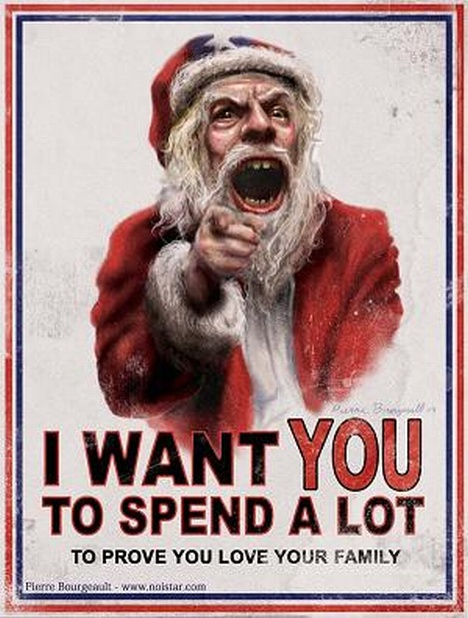 random web picture - Santa And Jesus